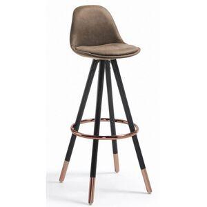 Барный стул La Forma STAG Коричневый