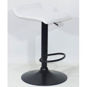 Барный стул Onder Mebli Abaz BAR BK-BASE Белый Экокожа