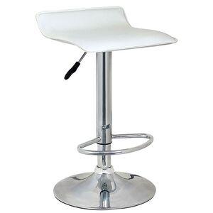 Барный стул Onder Mebli Abaz BAR CH-BASE Белый Экокожа