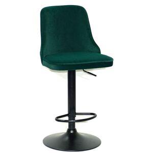 Барный стул Onder Mebli Adam BAR BK-BASE Зеленый B-1003 Бархат