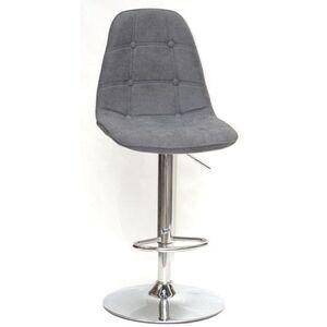 Барный стул Onder Mebli Alex BAR CH-BASE Серый G-110 Шенилл