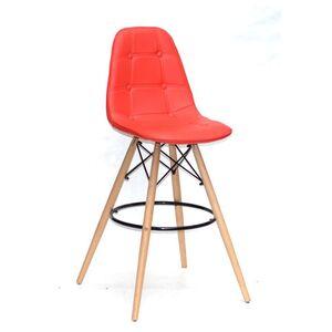 Барный стул Onder Mebli Alex BAR 75 Красный 05 Экокожа