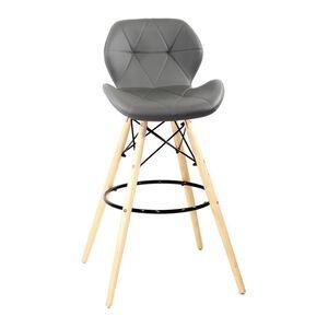 Барный стул Onder Mebli Invar BAR 75 Серый 21
