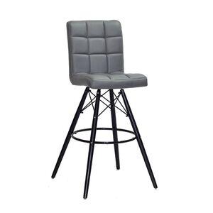 Барный стул Onder Mebli Marcus BAR 75-BK Серый 1001