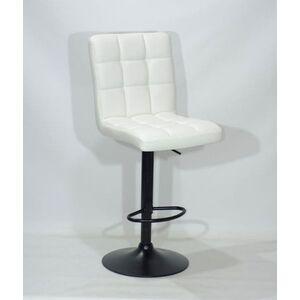 Барный стул Onder Mebli Augusto BAR BK-BASE Белый Экокожа