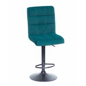 Барный стул Onder Mebli Augusto BAR BK-BASE Зеленый B-1003 Бархат