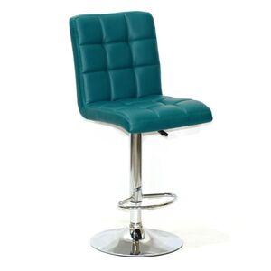 Барный стул Onder Mebli Augusto BAR CH-BASE Зеленый 1002 Экокожа