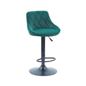 Барный стул Onder Mebli Foro BAR BK-BASE Зеленый B-1003 Бархат