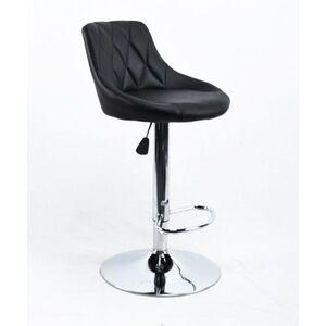 Барный стул Onder Mebli Foro BAR CH-BASE Черный Экокожа