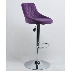Барный стул Onder Mebli Foro BAR CH-BASE Пурпурный B-1013 Бархат