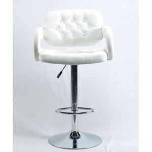 Барный стул Onder Mebli Gor BAR CH-BASE Белый Экокожа