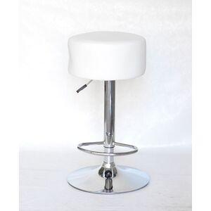 Барный стул Onder Mebli Rene BAR CH-BASE Белый Экокожа