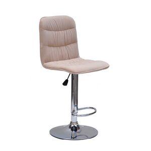 Барный стул Onder Mebli Split BAR CH-BASE Бежевый B-1005 Бархат
