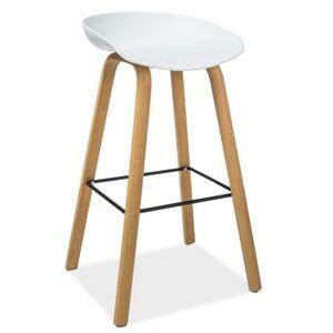 Полубарный стул Onder Mebli Konor BAR 65 Белый 07