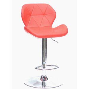 Барный стул Onder Mebli Invar BAR CH - BASE Красный 05 Экокожа