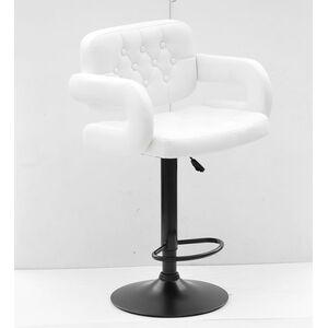 Барный стул Onder Mebli Gor BAR BK-BASE Белый Экокожа