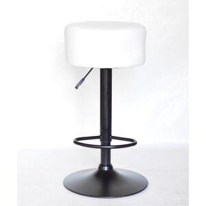 Барный стул Onder Mebli Rene BAR BK-BASE Белый Экокожа