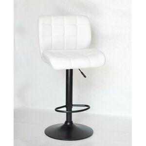 Барный стул Onder Mebli Soho BAR BK-BASE Белый Экокожа