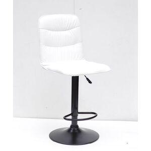 Барный стул Onder Mebli Split BAR BK-BASE Белый Экокожа