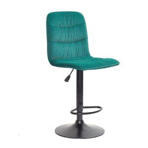 Барный стул Onder Mebli Split BAR BK-BASE Зеленый B-1003 Бархат