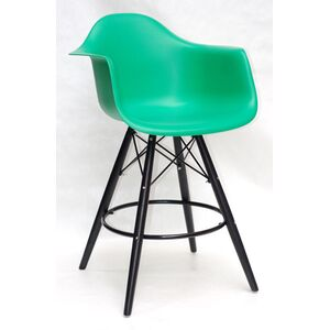 Полубарное кресло Onder Mebli Leon BAR 65-BK Зеленый 47 Пластик
