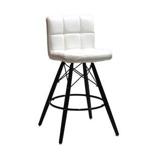 Полубарный стул Onder Mebli Flex BAR 65-BK Белый