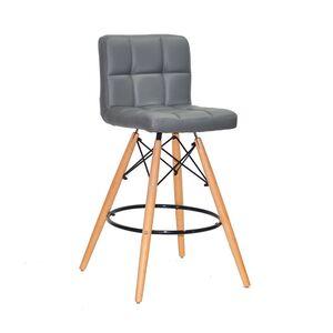 Полубарный стул Onder Mebli Flex BAR 65 Серый 1001
