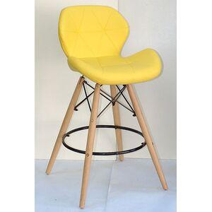 Полубарный стул Onder Mebli Invar BAR 65 Желтый 12