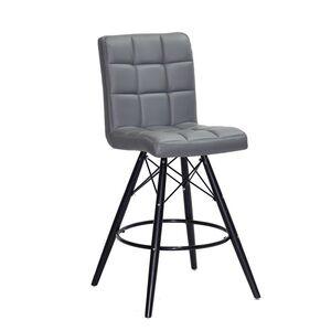 Полубарный стул Onder Mebli Marcus BAR 65-BK Серый 1001