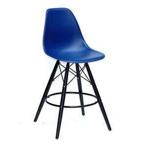 Полубарный стул Onder Mebli Nik BAR 65-BK Голубой 54