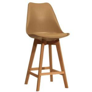 Полубарный стул Onder Mebli Milan BAR 65 Бежевый 06