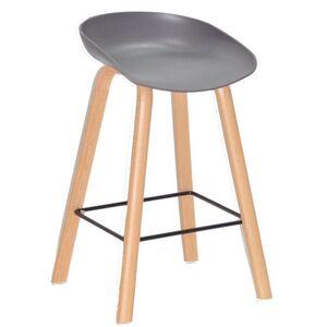 Полубарный стул Onder Mebli Konor BAR 65 Серый 21
