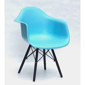 Кресло Onder Mebli Leon BK Голубой 52 Пластик