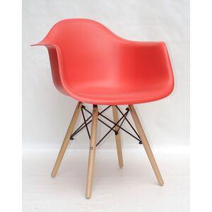 Кресло Onder Mebli Leon Красный 05 Пластик