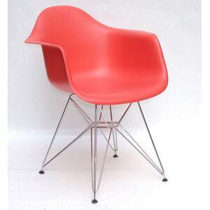 Кресло Onder Mebli Leon CH-ML Красный 05 Пластик