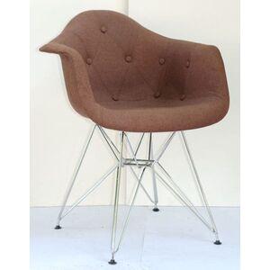 Кресло Onder Mebli Leon Soft-CH-ML Вискоза Коричневый K-10