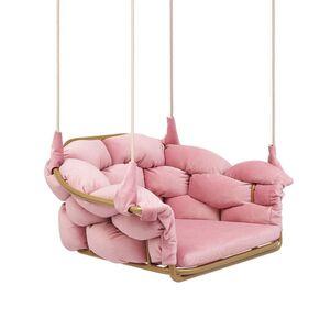 Кресло Pradex Элеонор подвесное Розовое