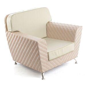Кресло из ротанга Pradex Флорида Бежевое