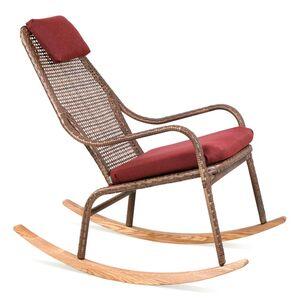 Кресло-качалка из ротанга Pradex Лэйзи