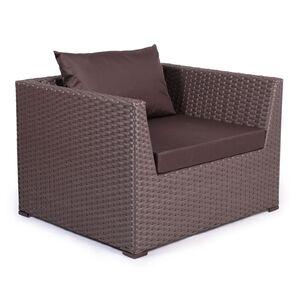 Кресло из ротанга Pradex Оазис Коричневое