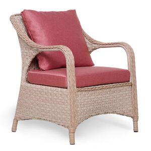 Кресло из ротанга Pradex Осмо Бежевое