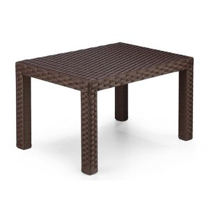 Стол из ротанга Pradex Аризона Темно-коричневый