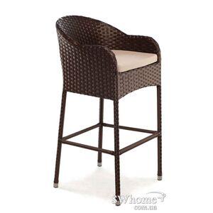 Кресло из ротанга Pradex Барное Коричневое