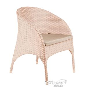 Кресло из ротанга Pradex Монтана Бежевое