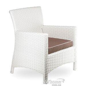Кресло из ротанга Pradex Омега-М Белое