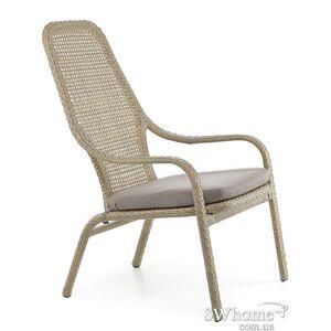 Кресло из ротанга Pradex Лэйзи Высокое