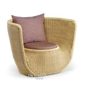 Кресло из ротанга Pradex Фиджи Бежевое