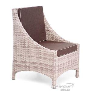 Кресло из ротанга Pradex Глэм Бежевое