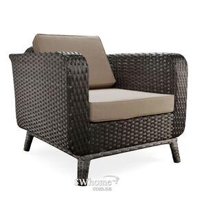 Кресло из ротанга Pradex Теннесси Черное