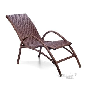 Кресло из ротанга Pradex Аризона Коричневое